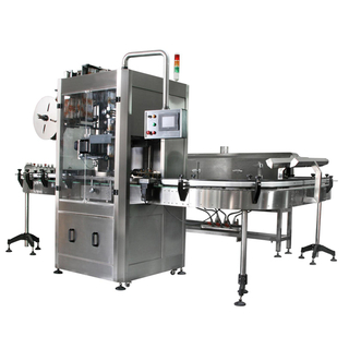 AUTOMATIC SHRINK SLEEVE LABEL MACHINE