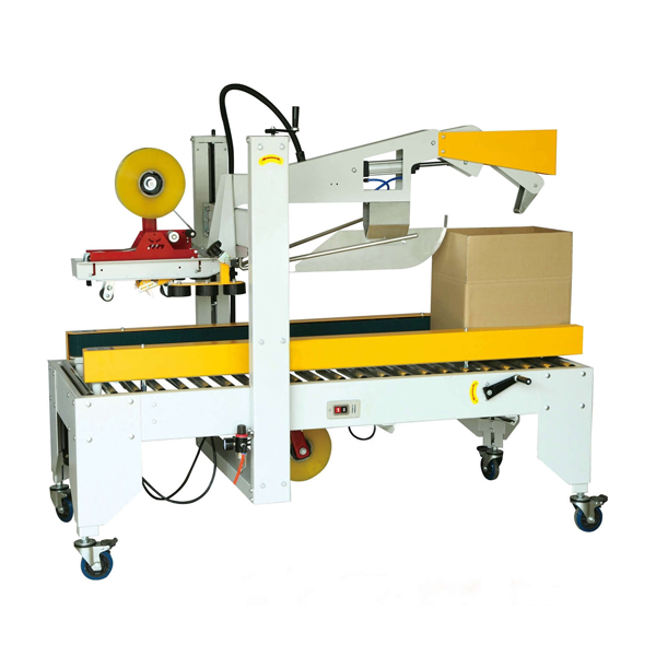 CARTON BOX COVER FOLDING SEALING MACHINE